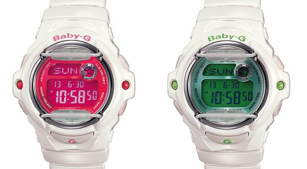 casio baby-g g-shock watch timepiece