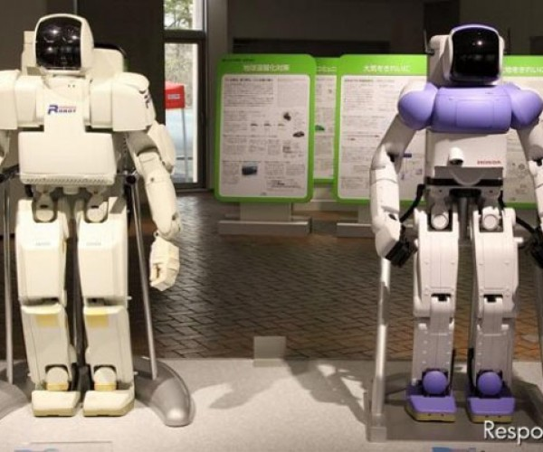 Honda Asimo Robot Gets a Redesign After 13 Years