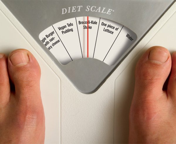 Diet Scale concept by Ji Lee