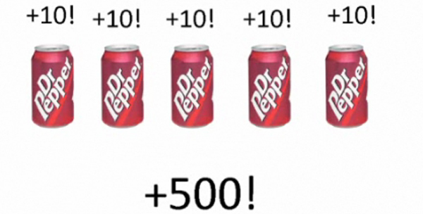 Dr. Pepper bonus points