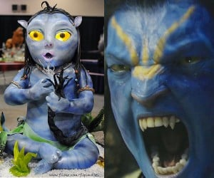 Avatar Na'Vi Cake Proves There Actually is Blue Food
