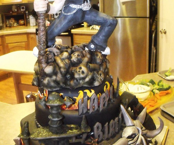 Brutal Legend Birthday Cake Would Make Jack Black Proud