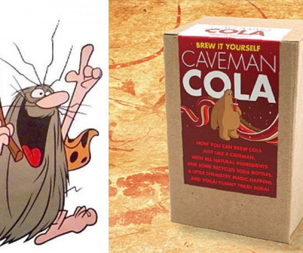 Caveman Cola: Brew Your Own Soda Pop