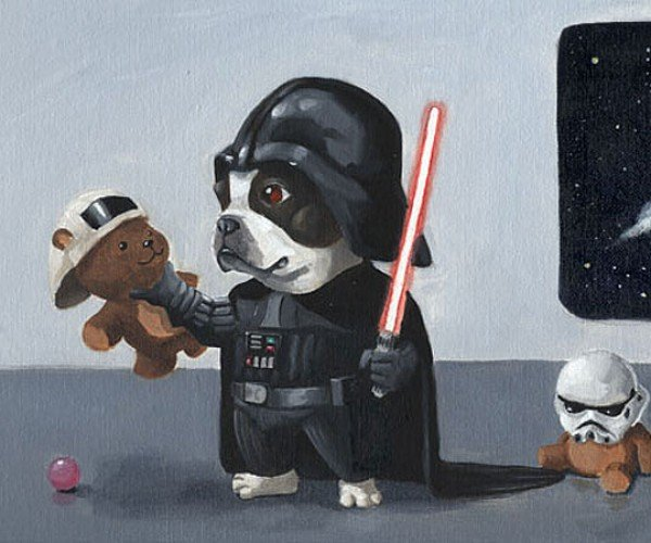 Darth Terrier and Jedi Pup: May the Treats be With You