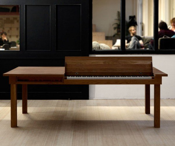 Piano Dining Table: Music, Munching and Money