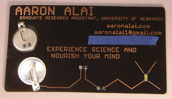 aaron alai electronic business card