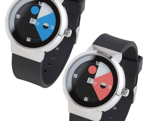 1/4 Watch Tells Time With No Hands