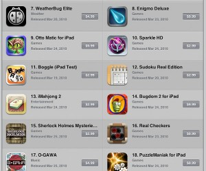 IPad Launch Day Apps Leaked