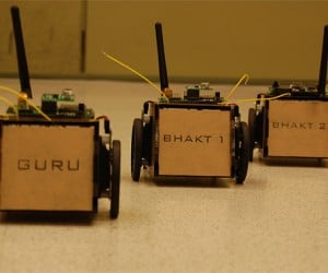 Gurubhakts: Gesture-Controlled Leader-Follower Robots