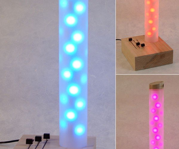 LED Tube Lamp Offers Colorful, Tubular Light