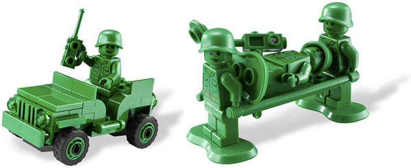 lego army men from toy story 2