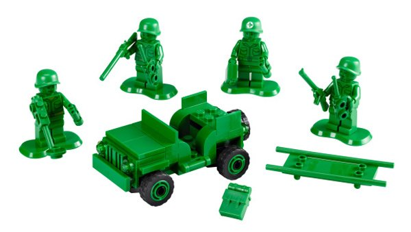 lego army men from toy story