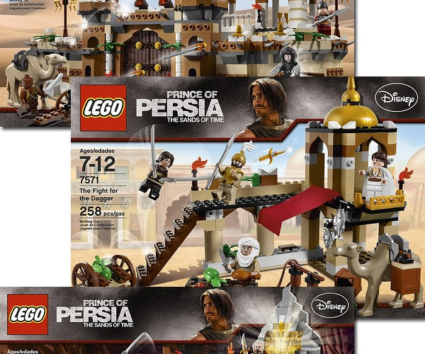 Prince of Persia in Glorious LEGO Form