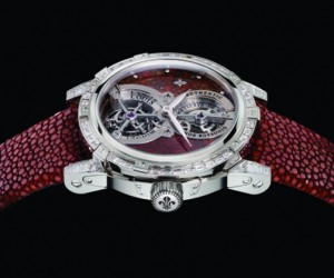 Jurassic Tourbillon Watch has Relics From a Land Before Time