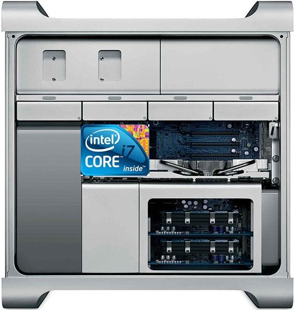 mac pro intel core i7 logo