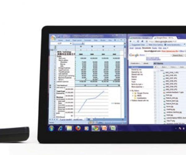 Medl Tech Panel: Portable LCD Monitor Runs on Battery Power