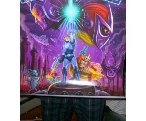 Ugly but Rare Mega Man 10 Poster on Ebay