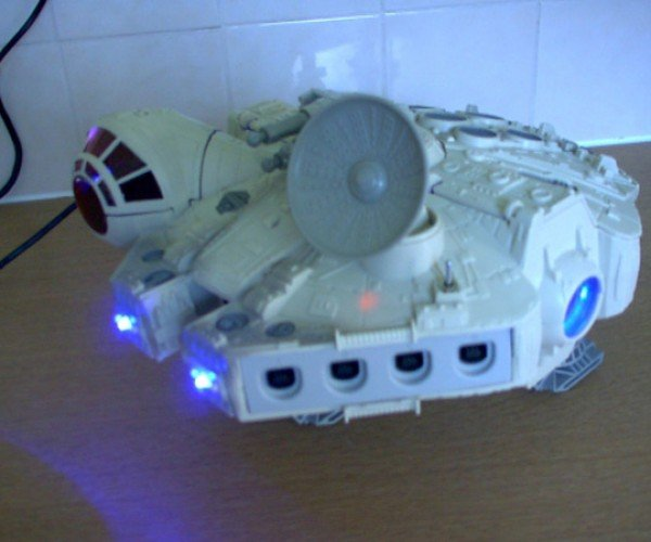 Dc-Falcon Dreamcast Casemod has Got a Lot of Spirit