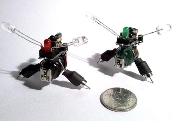 mini ir robots
