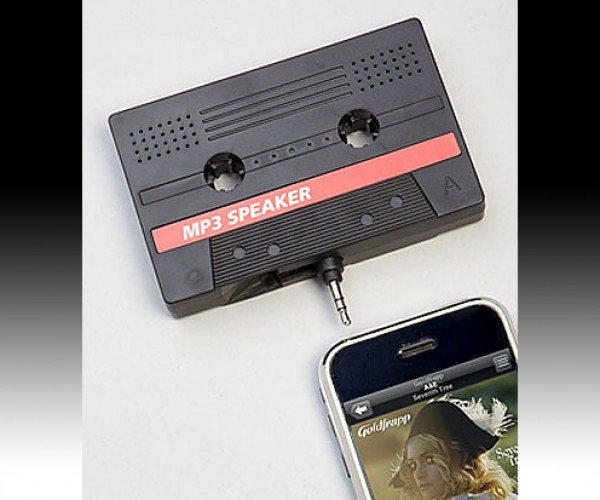 Cassette Tape Speaker: Do Not Try to Play This Tape