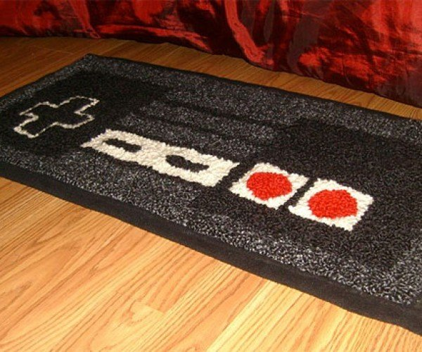 Warm Your 8-Bit Toes on an NES Controller Rug