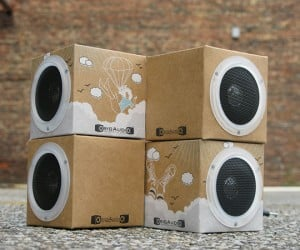 Origaudio Foldable Speakers: Lean and Green Lightweight Sounds