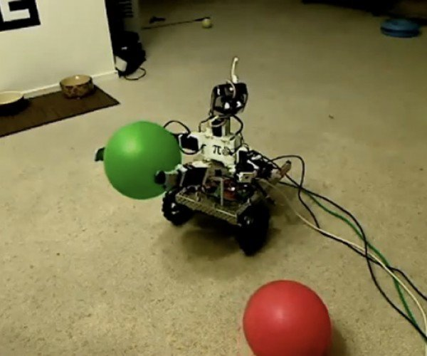 Peppy the Robot Wants What It Can'T have
