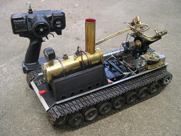 remote controlled steamtank 1