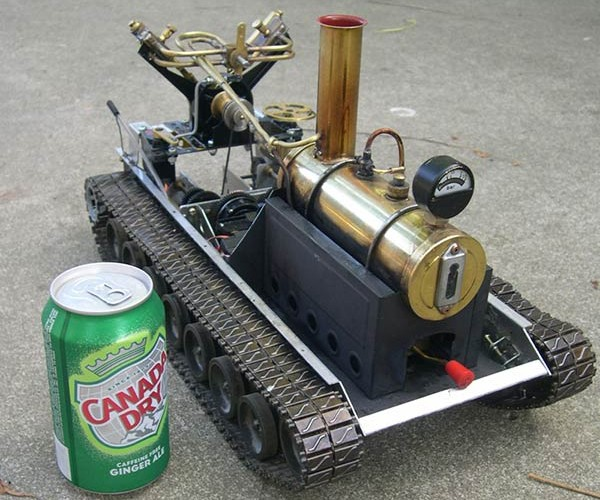 remote controlled steamtank 2