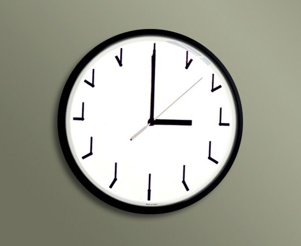 redundant clock by ji lee