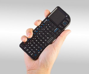 Rii Mini Wireless Keyboard: Swiss Army Keyboard