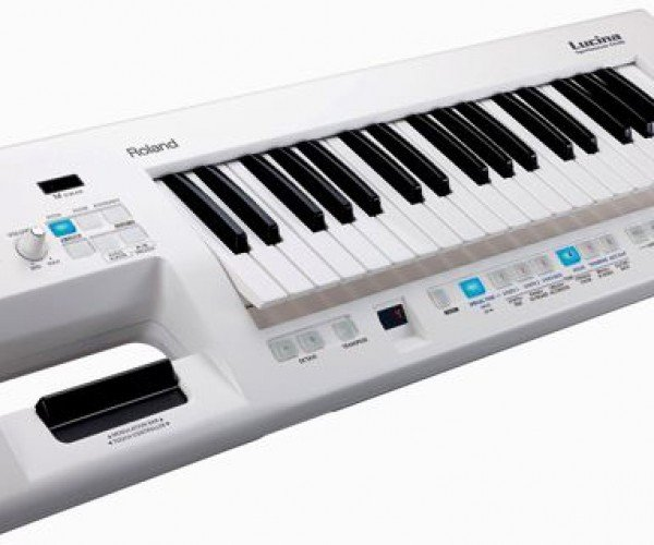 Roland Lucina Ax 09: Shoulder Synthesizer or Keytar? Does It Matter What Its Called?
