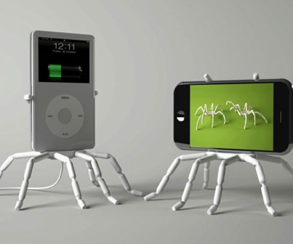 Spiderpodium: Let Your iPhone and iPod Do the Walking