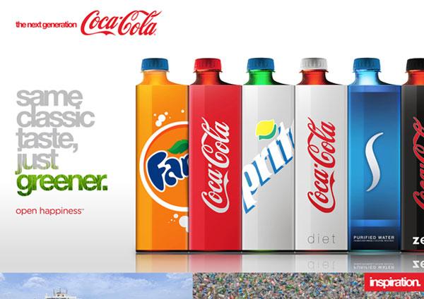 Square Coke Bottles