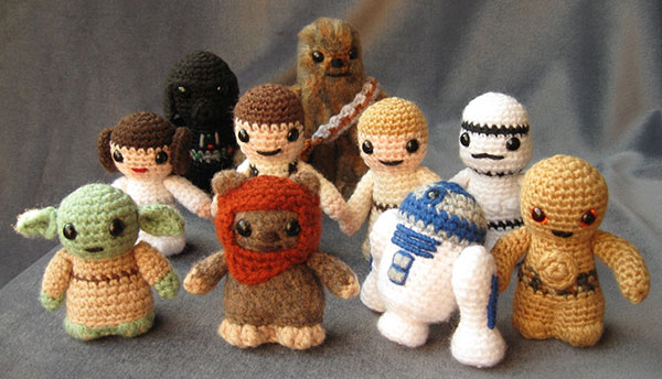 Amigurumi Japanese Patterns Free : Force Crochet: Star Wars Amigurumi Patterns - Technabob