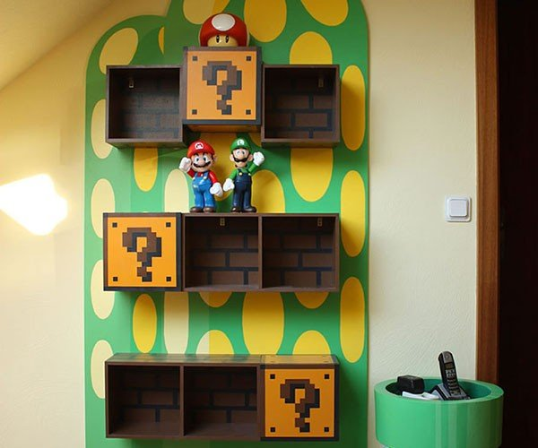 Super Mario Bros. Furniture Would Make Any Fan Jump for Joy