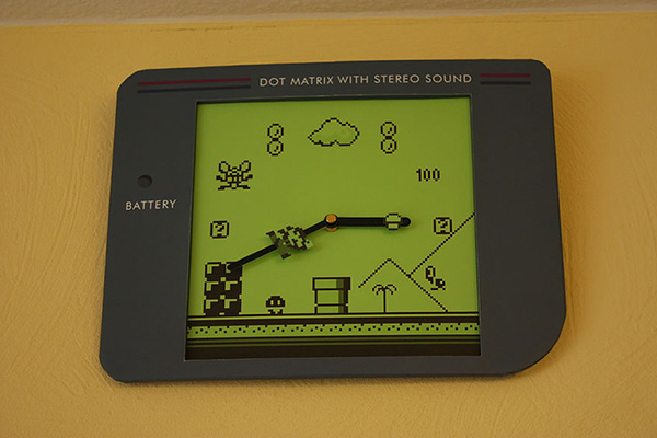 super mario gameboy clock