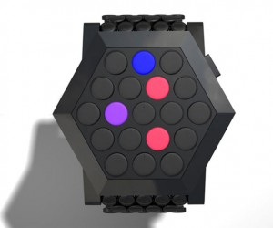 Tokyoflash Hexagon Art Watch Concept: It'S Hip to be Hexagonal
