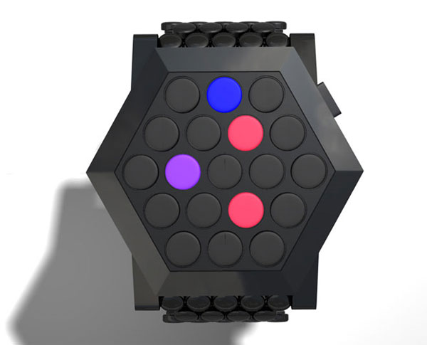 tokyoflash hex watch concept