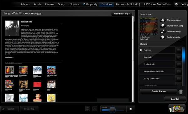 touchsmart_pandora_radiohead