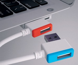 Nesting USB Connectors: Like Christmas Lights, but for Your Gadgets
