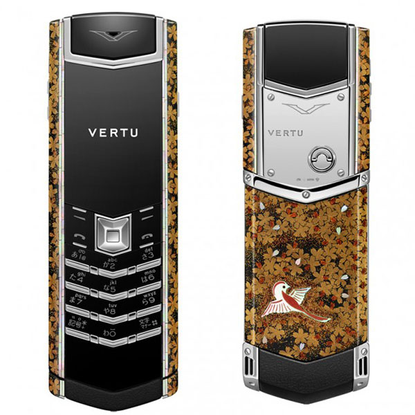 vertu golden cellphone 1
