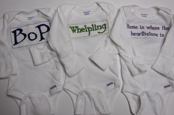 wow world of warcraft onesies