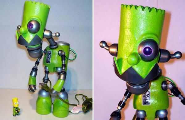 russian robot toy art geek