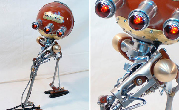 russian robot toy art geek