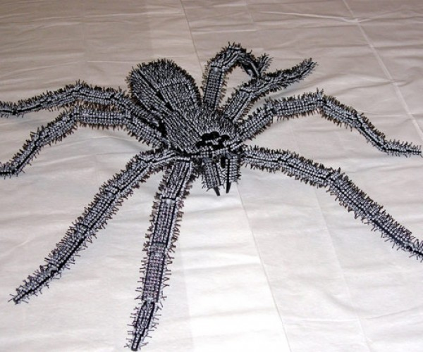 Doctor Mobius' Big Hairy & Scary LEGO Spider