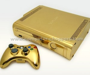 Golden Xbox 360 Shines, Sparkles and Spends Your Entire Salary