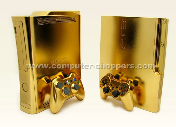 golden xbox 360 shines sparkles and spends your entire salary