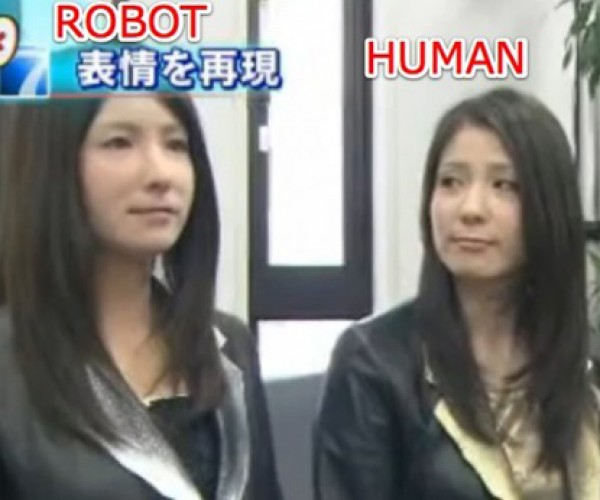 Japanese Scientist Makes Robotic Clone