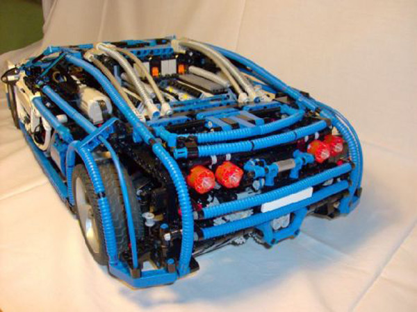lego bugatti veyron scale model sheepo